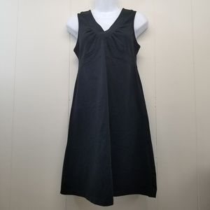 Athleta SENORITA Black Dress S Sleeveless Organic
